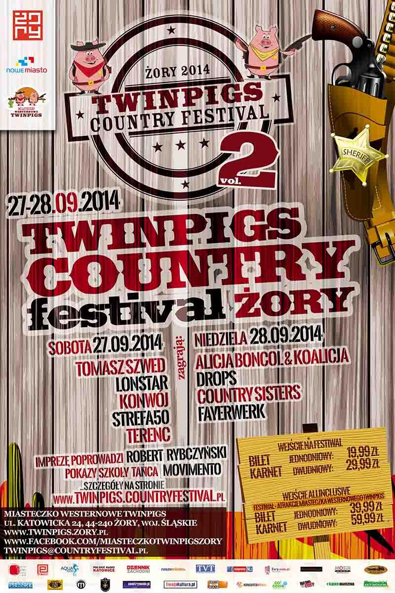 twin pigs festiwal