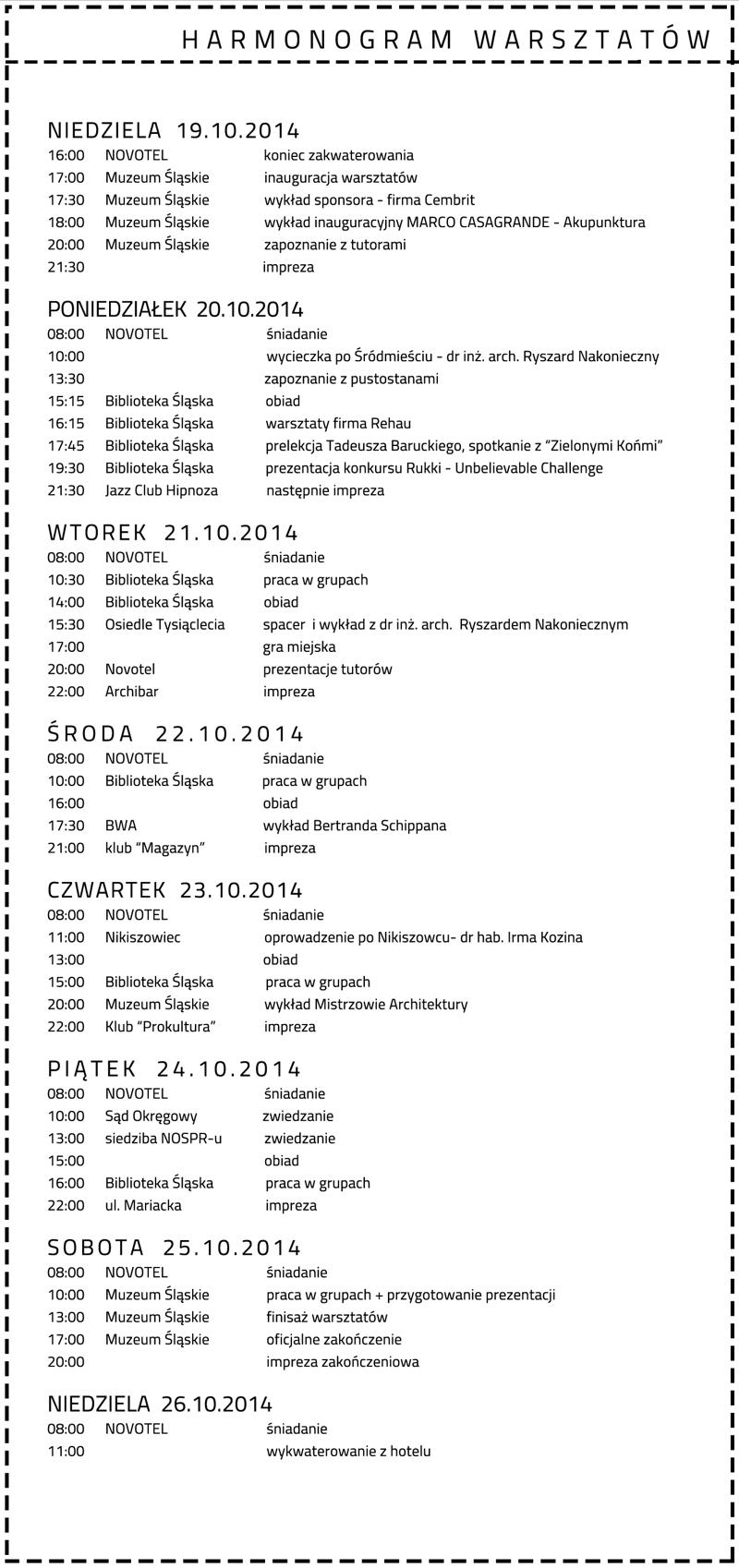 OSSA.harmonogram.schedule