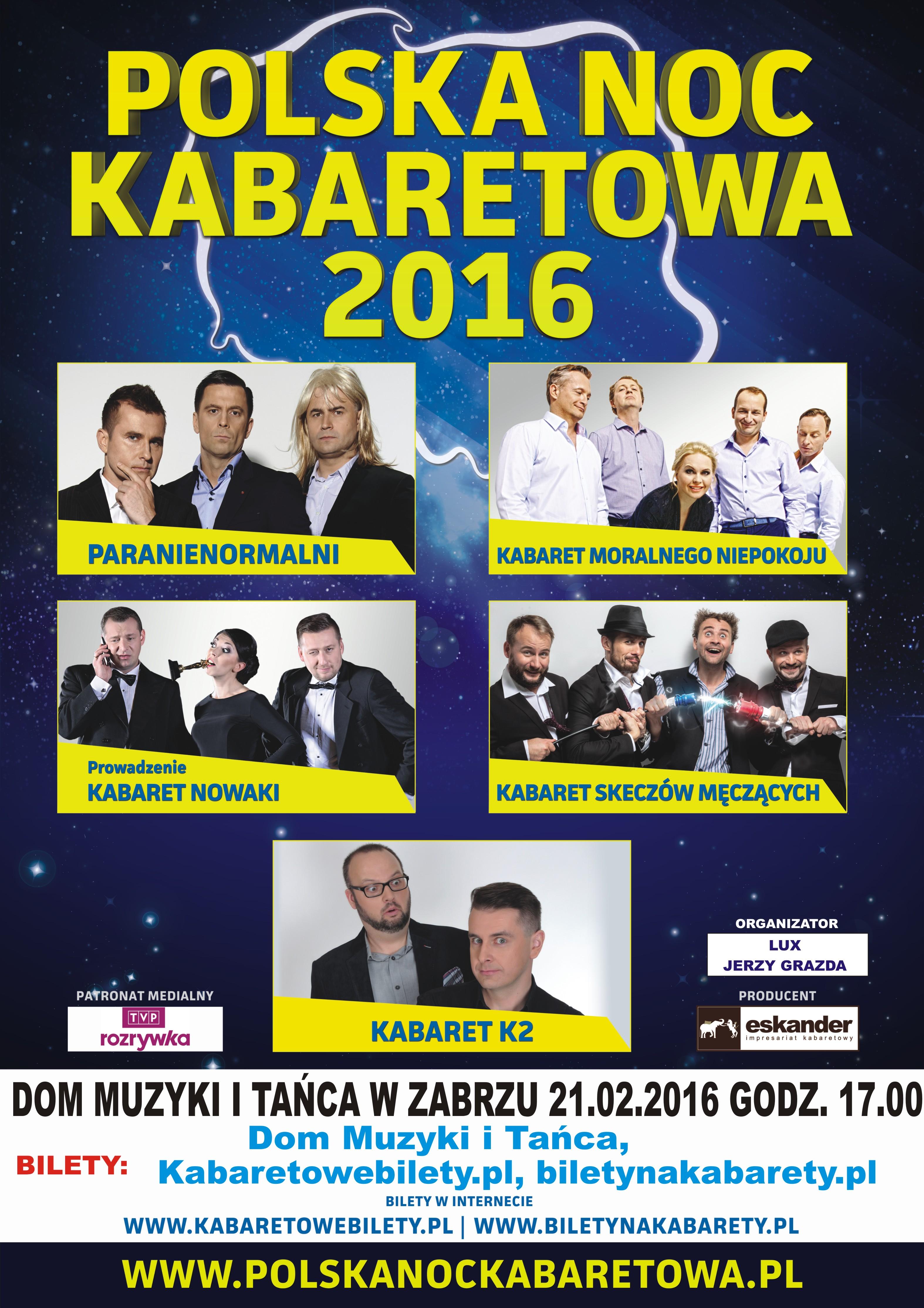 PLAKAT PNK 2016 ZABRZE