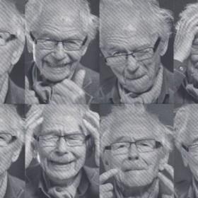 Śmieszny staruszek